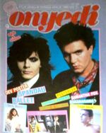 Onyedi Magazine turkey 12 1986 Duran Duran Samantha Fox Janet Jackson Falco Eurythmics John Lennon Paul McCartney Pet Shop Boys Bananarama Lionel Richie Rob Lowe Prince wikipedia rare