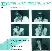 Covers, Duran Duran, 1982, Carnival EP Europe, 01 Front