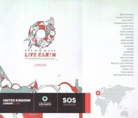 Live earth london wikipedia programme wembley duran duran concert