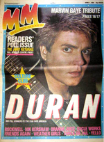 Melody maker 7 april 1994 duran duran