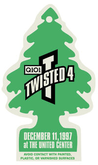 Twisted christmas q101 radio in chicago duran duran duran