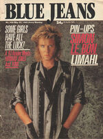 Blue Jeans Magazine 25 May 1985 No. 436 Simon Le Bon Limahl wikipedia duran duran