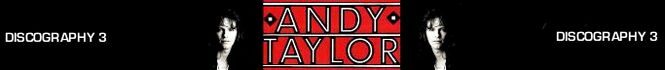 Andy taylor discography duran duran wikipedia collection QQ