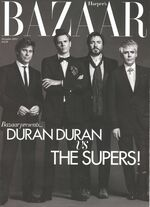 Harper's bazaar magazine december 2011 duran duran fashion discogs wiki
