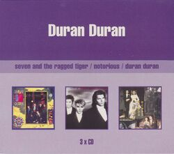 3 X CD duran duran album set wikipedia collection