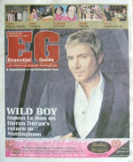Eg essential guide magazine nottingham duran duran