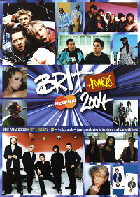 Poster brit awards 2004 duran duran