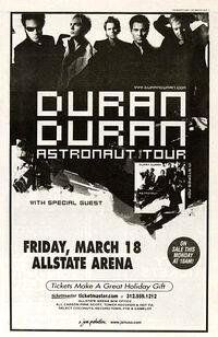 Duran duran Allstate Arena in Chicago, IL (USA)