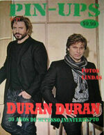 Pin-ups magazine duran duran south america wikipedia