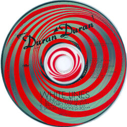 136 white lines single song usa cd promo DPRO-79557 duran duran discography discogs wikipedia