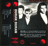 91 notorious album duran duran wikipedia EMI-DYNA · PHILIPPINES · TC-DDN-331 discography discogs song lyric wiki