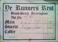 YE RUNNERS REST - THE RESTAURANT WITHIN THE CLUB rum runner broad street wikipedia duran duran