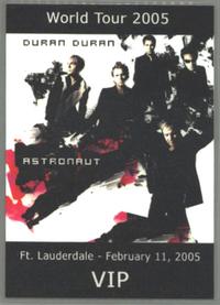 Ft lauderdale duran duran pass 11 february 2005