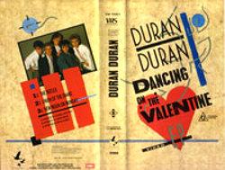 K 2 dancing on the valentine VHS · PMI-EMI · AUSTRALIA · VM 15001 duran duran wikipedia