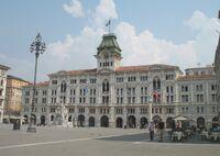 Trieste-Palazzo del Comune-main square wikipedia Trieste duran duran