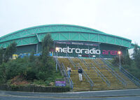 Metro Radio Arena the Newcastle Arena and Telewest Arena newcastle duran duran wikipedia