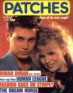 Patches magazine duran duran wikipedia the human league