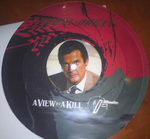 A view to a kill picture disc duran duran