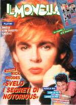 MONELLO no.47 1986 italia magazine duran duran