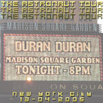 Madison Square Garden wikipedia duran duran event