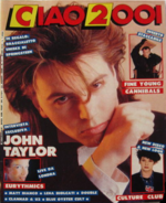 Ciao 2001 N.11 del 1986 Duran Duran Eurythmics Matt Bianco U2 Culture Club FF1 magazine wikipedia
