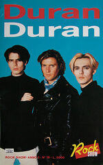 1 duran duran rock show italy no.18 look at stubs com tickets