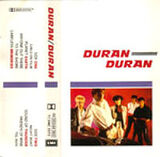 75 DURAN DURAN 1981 ALBUM CASSETTE EMI · UK · TC-EMC 3372 DISCOGRAPHY DISCOGS WIKIPEDIA
