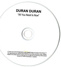 All you need is now duran duran album promo
