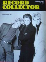 Record collector magazine wikipedia DURAN DURAN MAGAZINE feb -1999