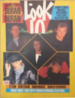 Look-in magazine 13 oct 84 duran duran