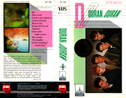 Video VHS · THORN EMI VIDEO · USA · TVF 1646 wikipedia duran duran