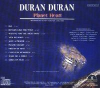 Planet Heart duran duran wikipedia bootleg 1