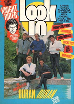 Look-in magazine no 34 duran duran 20 august 1983