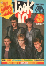 Look-in 1984 magazine duran duran duran