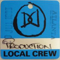 Duran Duran Backstage Tour Pass Atlanta 20 Juli