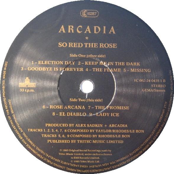 17 so red the rose album wikipedia duran duran arcadia parlophone 24 0438 1 germany discography discogs lyric wiki 5 jpeg