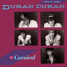 Covers, Duran Duran, 1982, Carnival EP, 01 Front