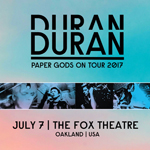 Frieda billingham Paper Gods On Tour - Oakland duran duran wikipedia music com