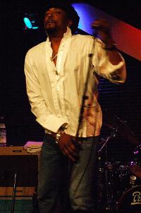 Bernard Fowler live in Vienna 2007