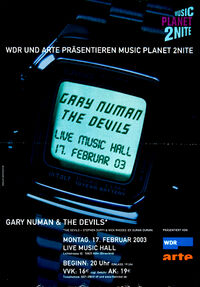 Poster duran duran the devils live music hall