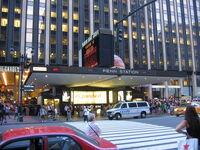 Penn Station NYC main entrance duran duran