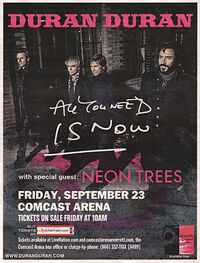 Comcast Arena at Everett wikipedia duran duran neon trees 23 sep