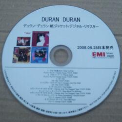 Paper sleeve remasters promo japan duran duran google com wikipedia discogs