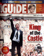 Duranasty scans the guide evening news cover july 10 09 Uk