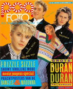 Pop foto netherlands holland duran duran magazine 1, 1987