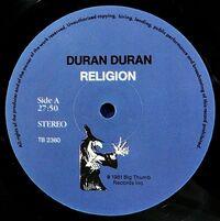 Religion duran duran vinyl bootleg album wikipedia 2