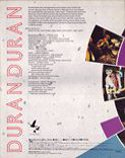 T11 VHD · TOSHIBA-EMI · JAPAN · V098-1015 sing blue silver wikipedia duran duran videodisc 1