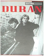 Extra duran duran fan club magazine