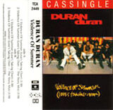 36 violence of summer (love's taking over) single song duran duran cassette EMI PARLOPHONE · AUSTRALIA · TCA 2449 discogs discography wikipedia com music