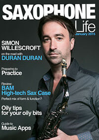 Saxophone-life-magazine-january-2015-cover simon willescoft wikipedia duran duran